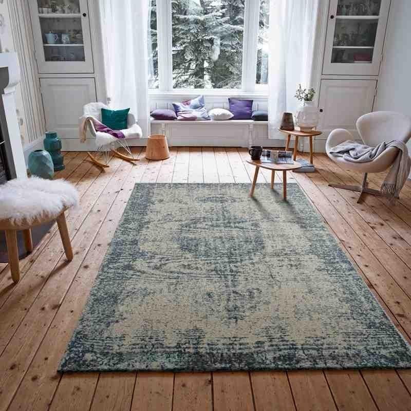 tappeto moderno tappeto deco sitap light blue 27l