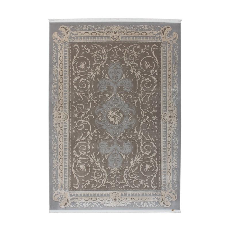 tappeto moderno Pierre Cardin Hommage Exclusive 110 argento/tortora