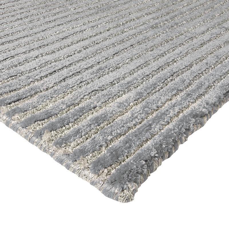 tappeto moderno Sitap Angels Grey Seta