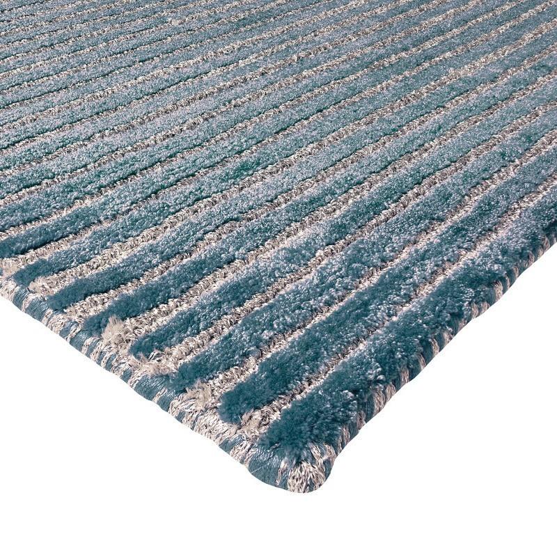 tappeto moderno Sitap Angels Grey Blue Seta