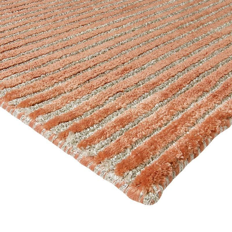 tappeto moderno Sitap Angels Grey Rust Seta