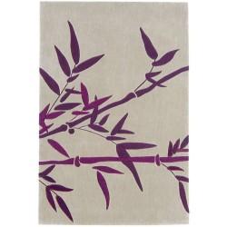tappeto moderno Bamboo purple cm.200x300