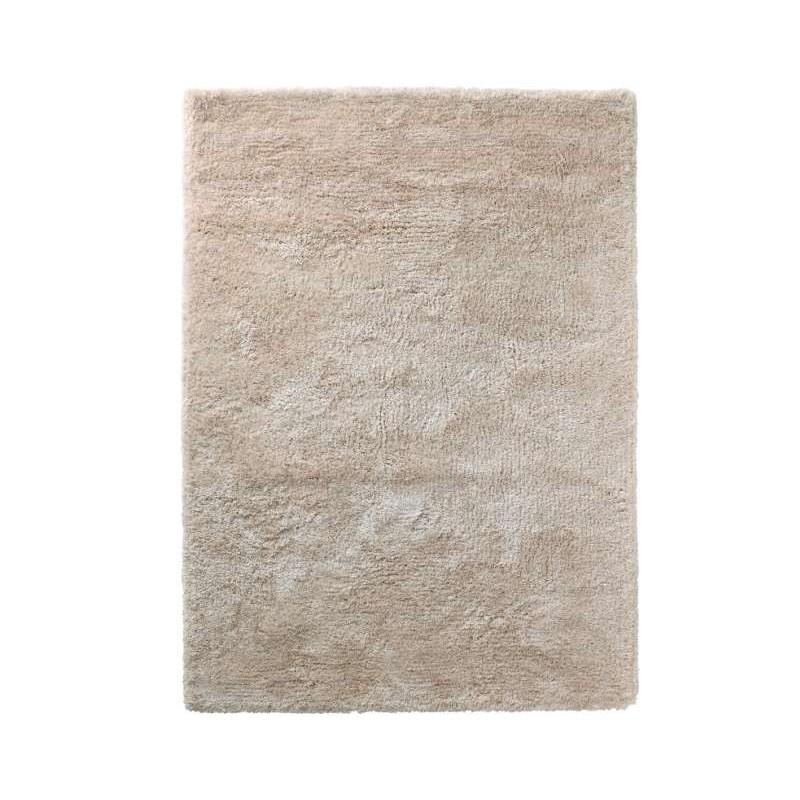 tappeto moderno shaggy Spirit white cm.150x220