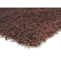 tappeto moderno shaggy Spirit choco cm.150x240