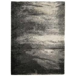 tappeto moderno shaggy Pasha grigio cm.200x300