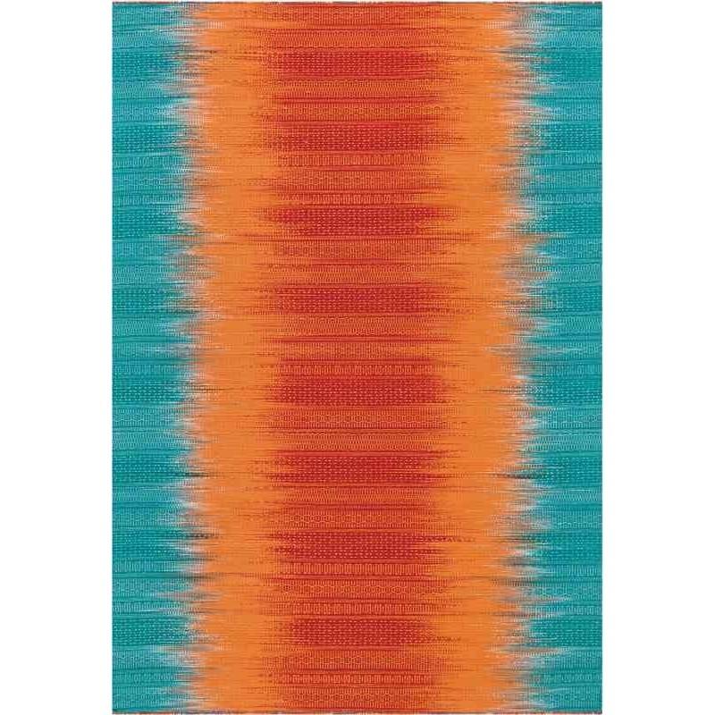 tappeto Arte Espina Sunset 8070 arancio blu