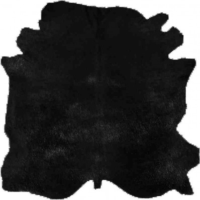 Tappeto Sitap Pelle Conciata Black