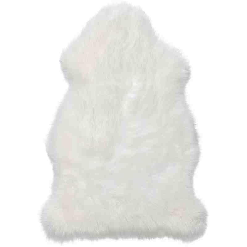 Tappeto Sitap Pelle Montone White
