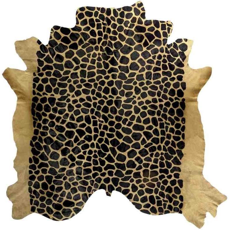 Tappeto Sitap Pelle Stampata Giraffa