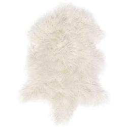 Tappeto Sitap Pelle Tibet White