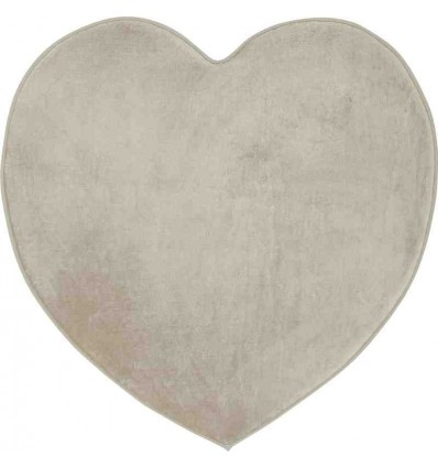 Tappeto Sitap Cuore Grey-Ivory