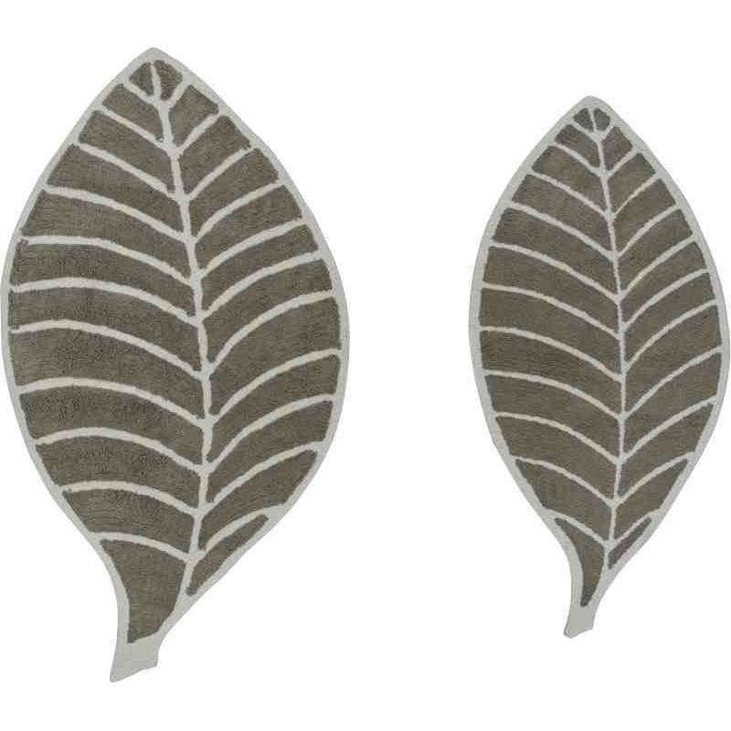 Tappeto Sitap Leaf Beige-Ivory