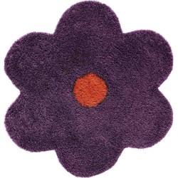 Tappeto Sitap Daisy 6010 Purple Rotondo