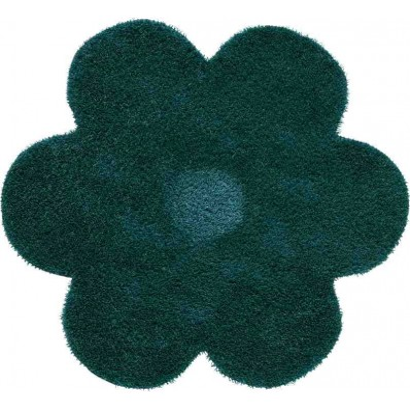 Tappeto Sitap Daisy 6010 Turquoise Rotondo