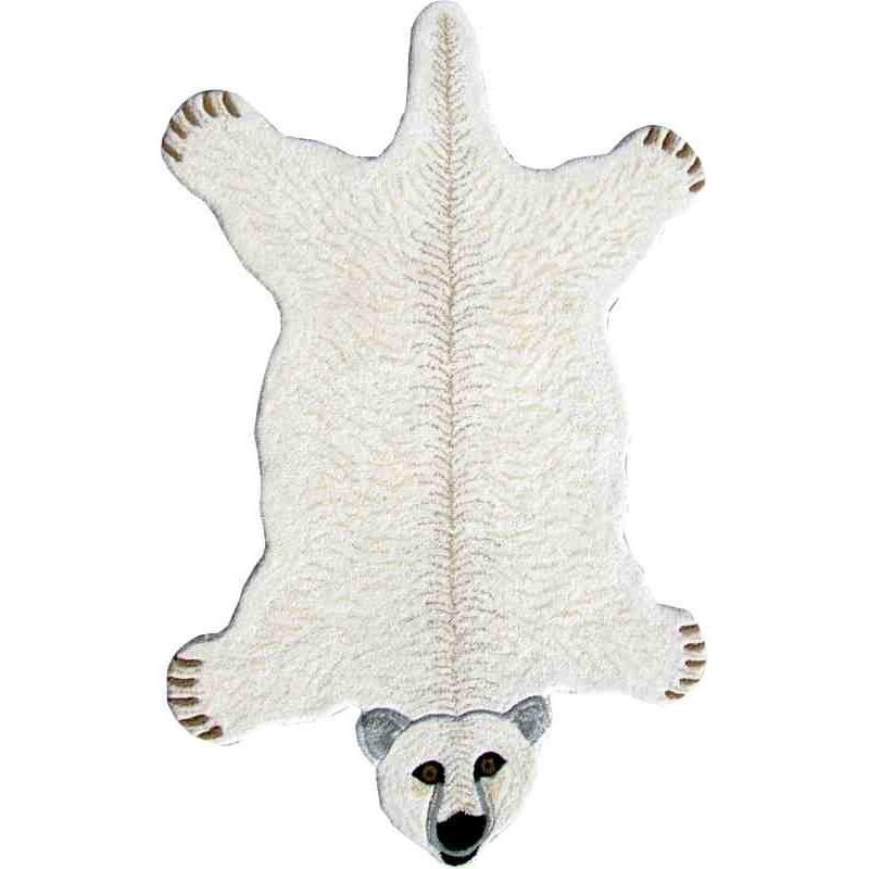 Tappeto Sitap Animals Polar Bear White