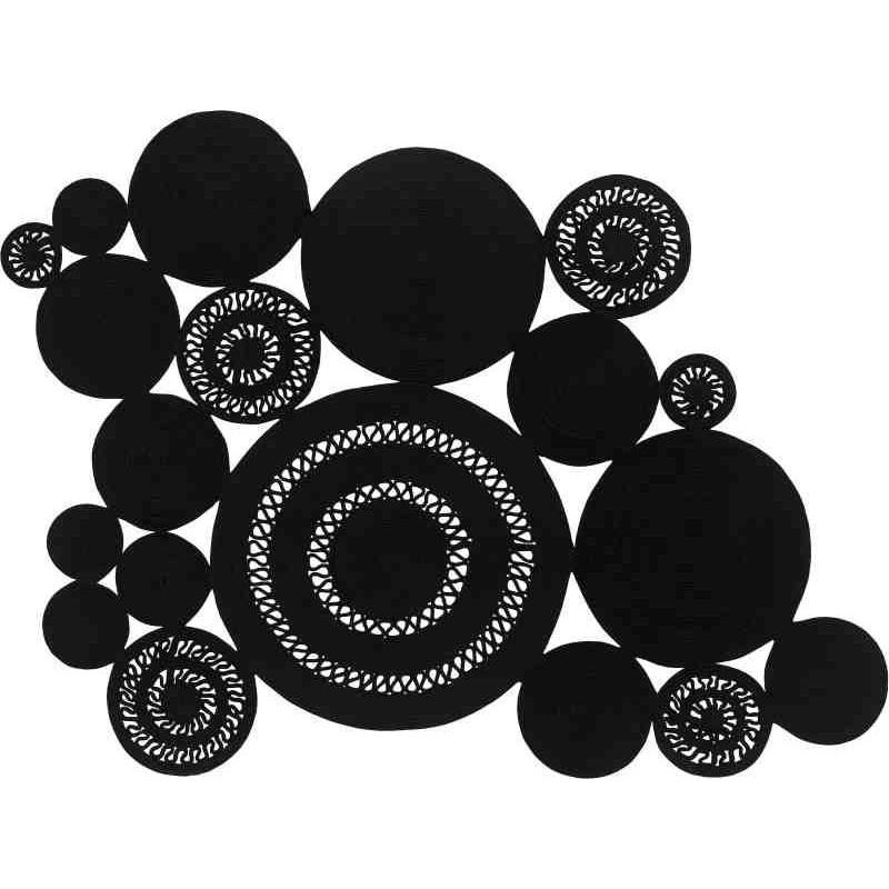 Tappeto Sitap Alyssa Patchwork Black