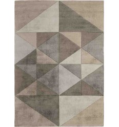 Tappeto Sitap Triangles Beige