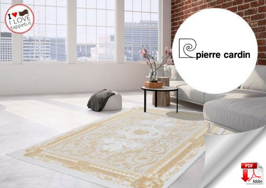 download pdf catalogue Pierre Cardin rugs and carpets