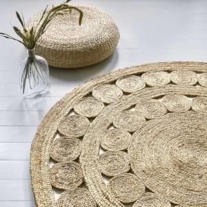 tappeti moderni in fibra naturale